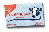 """Суміш рослинно-молочна 72,5% 200г/20шт ТМ """"Селянська Корівка"""""""