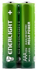 Батарейка ENERLIGHT MEGA POWER (AAА МИН-ПАЛЬЧИК) Алкалайновые (ТЕХНИЧЕСКИЙ) 2 шт. / Уп 60 шт. / Уп 1973