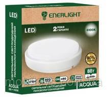Светильник пилевологозахищений светодиодный ENERLIGHT ACQUA 8Вт 4100К