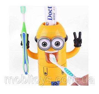 Диспенсер - дозатор зубной пасты и щеток (Миньон) арт. 34565