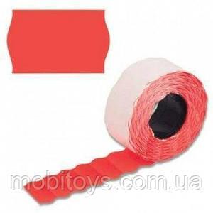Ценники фигурка 6 метров, 6шт / туб. красный, А12 (26 * 12) ш.к.4822612250606