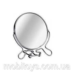 Зеркало на ножке двустороннее (D = 18см) №8