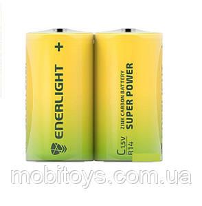 Батарейка ENERLIGHT Super Power (R-14) C (мини Бочка ТЕХНИЧЕСКАЯ) 12 шт. / Уп Ш.К. 4823093502185