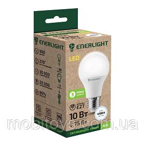 Стандарт Лампа светодиодная ENERLIGHT A60 10Вт 4100K E27 Ш.К. 4823093500068