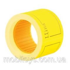 Ценники рамка 6 метров, 5шт / туб, желтый, Ф. ш.к.4824030210606