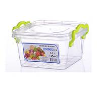 """Универсальный контейнер пищевой квадратный 0,4 л """"AL-Plastik"""" (аналог Lux)"""