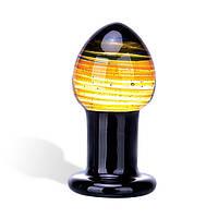 Анальный плаг среднего размера - Galileo Glass Butt Plug, фото 1