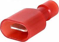 Наконечник кабельный соединительный изолированный 0,5-1,5 мм.кв. (папа) красный (100 шт) E.NEXT
