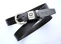Ремень кожаный женский 115х3,8 см Gucci acs0000056 Коричневый