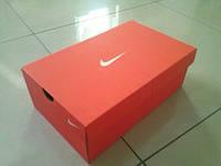 Коробки для обуви Nike оранжевая