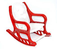 Кресло-качалка детское K-PLAST (48901) Красное