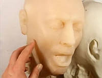 Силиконовая голова для спецэффектов в кино