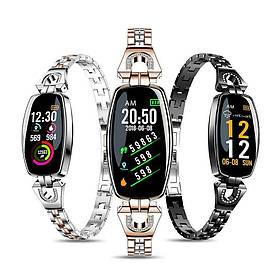 Женские смарт часы-браслет / Умный браслет здоровья