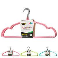 """Вешалка для одежды STENSON """"Color life"""" 40 см 5 шт (R85364) Просиликоненая"""