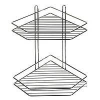Полка в ванную угловая STENSON 20.5 х 20.5 х 33.3 см (MH-1981)