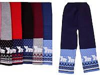 """Детские шерстяные брюки """"Мишки"""" для мальчика, оптом - распродажа"""