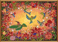 Схема для вышивки бисером Райские птицы БИС 1298