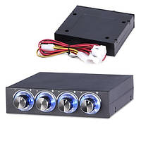 Реобас 3.5 регулятор скорости вращения вентиляторов ПК, 4 канала