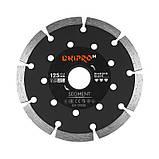 Алмазний диск DNIPRO-M 125 22,2, Segment, фото 3