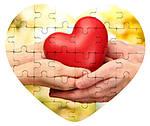 Фотопазл в форме Сердца по Вашему дизайну, фото 3