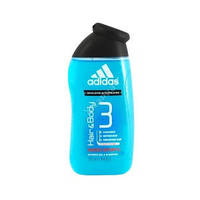 Мужской гель для душа и шампунь Adidas Hair&Body 250 мл