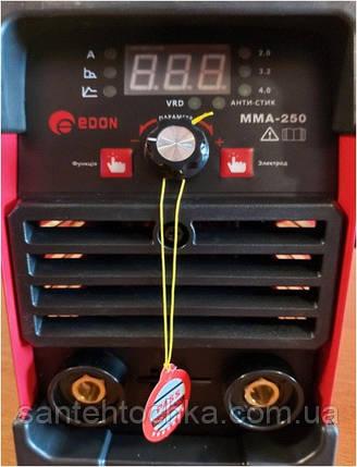 Інверторна зварювання EDON MMA-250, фото 2