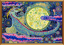 Схема для вышивки бисером Небесный дракон БИС 3300