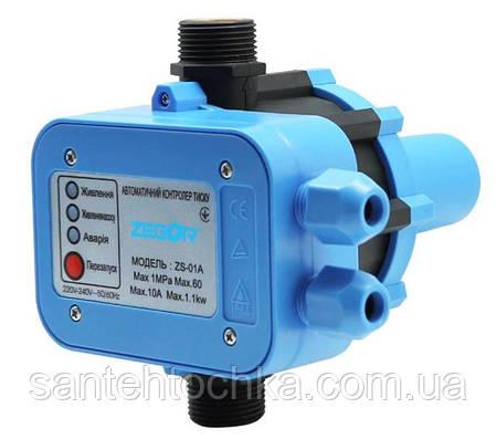Електронний контролер Zegor ZS-01A тиску з автоматичним управлінням, фото 2