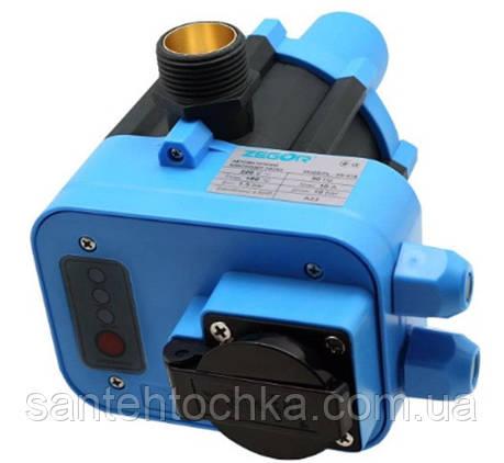 Электронный контроллер Zegor ZS-01B давления с розеткой, фото 2