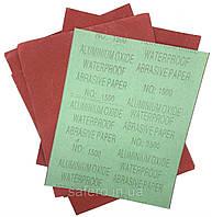 Наждачная бумага Р1500 шлифовальная бумага листы шлифовальные бумажная основа влагостойкая 230х280 мм / 10 шт