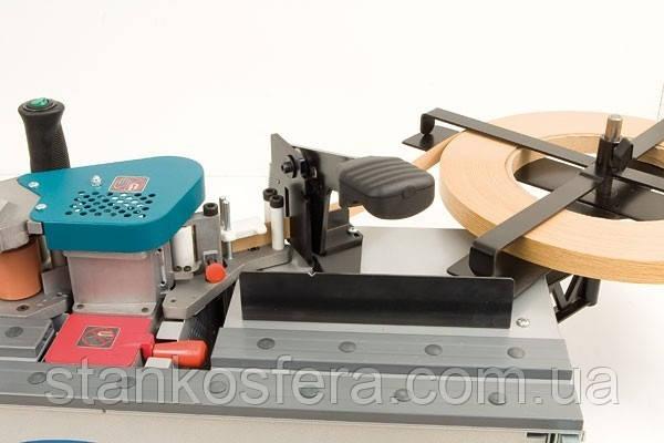 Торцевой подрезатель и держатель рулона для кромкооблицовочного станка PEB250T