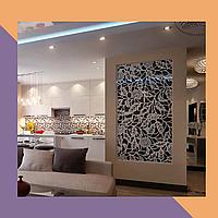 3Д фрезеровка интерьерных МДФ-панелей для квартиры