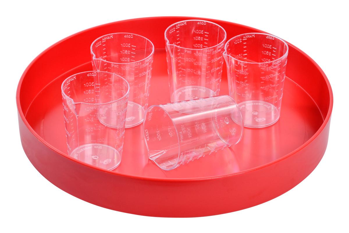 Стакан мерный пластиковый 250мл (полистирол)