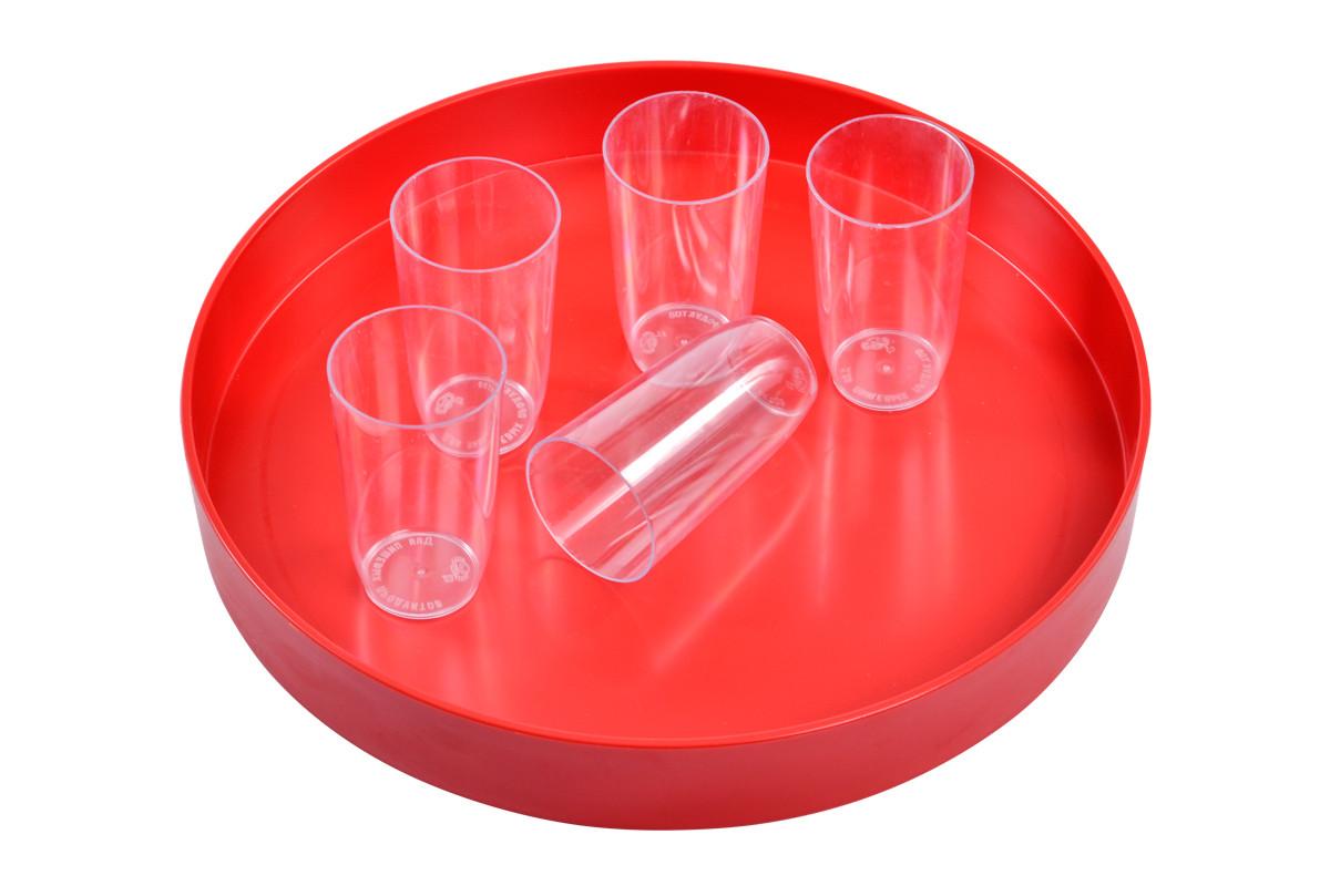 Стакан пластиковый 200мл (полистирол)