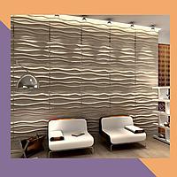 3Д фрезеровка декоративных МДФ-панелей для офиса