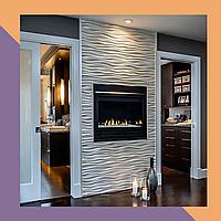 3Д фрезеровка декоративных МДФ-панелей для квартиры