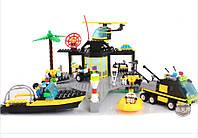 """Конструктор Brick 111/208884  """"Центр спасения на воде""""  (509 деталей) HN"""