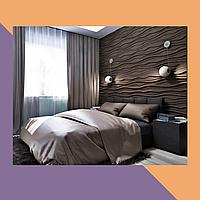 3Д фрезеровка интерьерзых МДФ-панелей для спальни