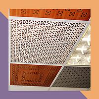 3Д фрезеровка интерьерных МДФ-панелей для декорарования потолка