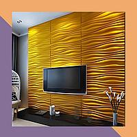 3Д фрезеровка интерьерных МДФ-панелей для комнаты