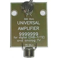 Усилитель антенный SWA-9999999 Универсальный широкополосный до 150 км 12В с F разъемом (27-40 дБ)