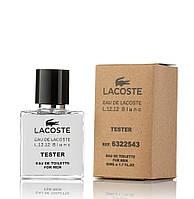 Тестер Lacoste Eau De L.12.12 Blanc для Мужчин и парней 50 мл производства ОАЭ