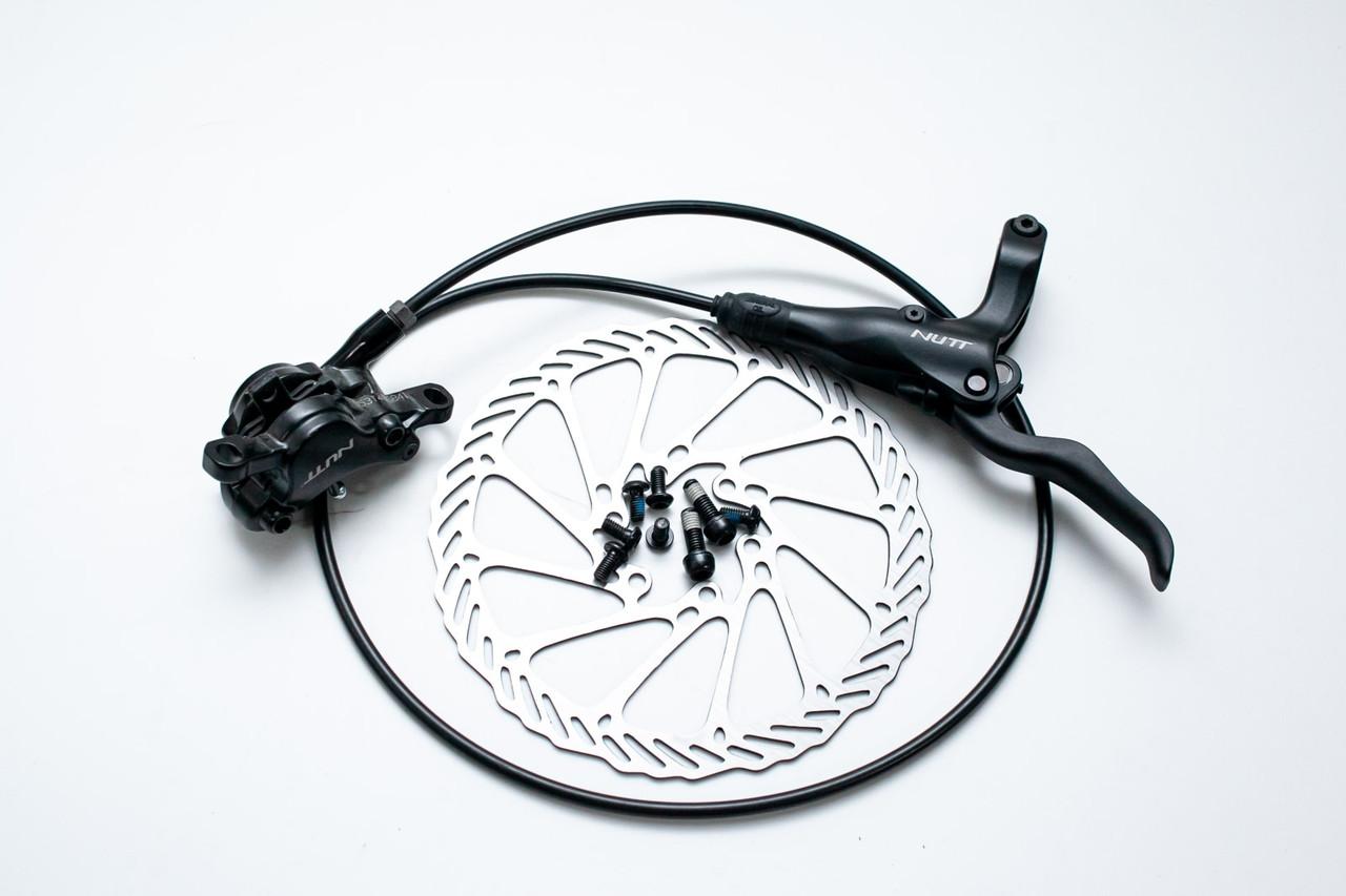 Передний дисковый гидравлический тормоз NUTT Y-1 750мм с ротором 160мм