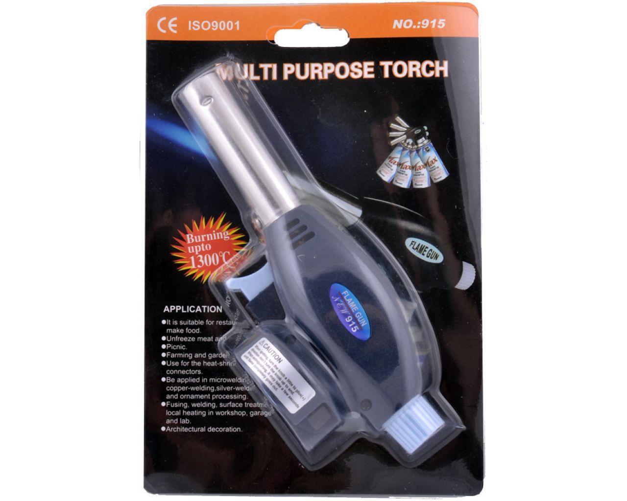 Портативная газовая горелка Multi Purpose Torch 915