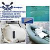 Одноместная байдарка надувная Ладья ЛБ-300К Комфорт Караван надувной каяк Ладья байдарка туристическая, фото 3