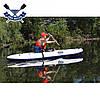 Одноместная байдарка надувная Ладья ЛБ-300У Базовая Турист надувной каяк Ладья  байдарка туристическая, фото 7