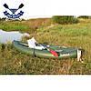 Двухместная байдарка надувная Ладья ЛБ-380НВ2 Комфорт Рыбацкая надувной каяк Ладья рыболовный байдарка рыбацка, фото 10