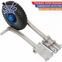 Транцевые колеса M-truck из нержавеющей стали, цельнолитые, нагрузка до 200 кг