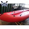Байдарка надувний Човен ЛБ-480-3 тримісна Комфорт Чайка для рафтингу (максі-комплект), фото 6