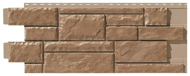 Фасадная панель Тесаный камень Bark blend